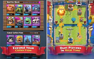 Game Clash Royale gratis gems