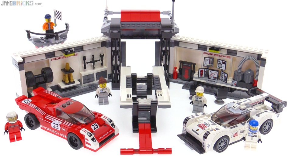 lego speed champions porsche 919 917k pit lane review. Black Bedroom Furniture Sets. Home Design Ideas