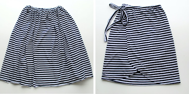 DIY Tulip Wrap Skirt