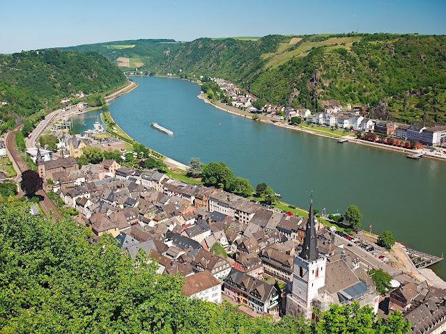 St. Goar, Rhein, Mittelrhein