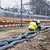 Het spoor rond station Naarden-Bussum wordt flink onder handen genomen