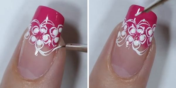 decoração de unhas fácil