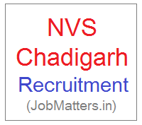 image : NVS RO Chandigarh Recruitment 2017-18 @ JobMatters.in