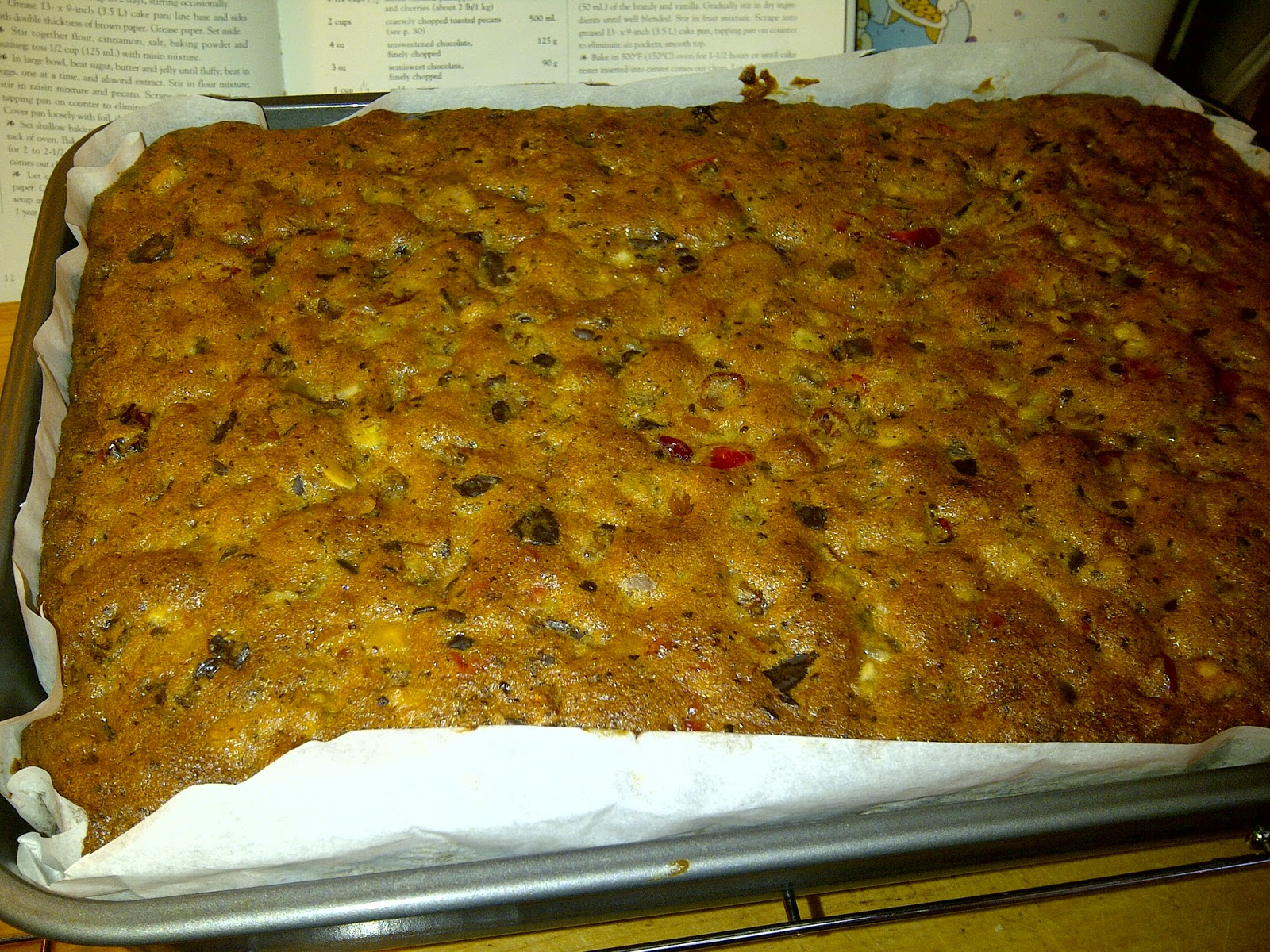 How Far In Advance To Make Christmas Cake