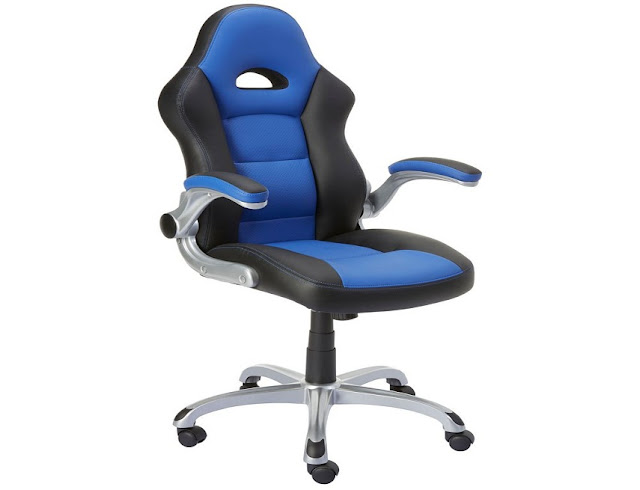 best buying Staples office chair blue black for sale online