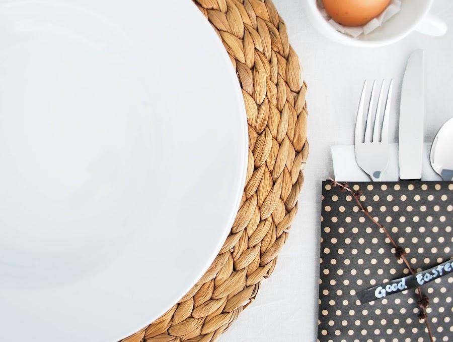 decoración low cost para mi mesa de Pascua www.mylittlebrunch.com