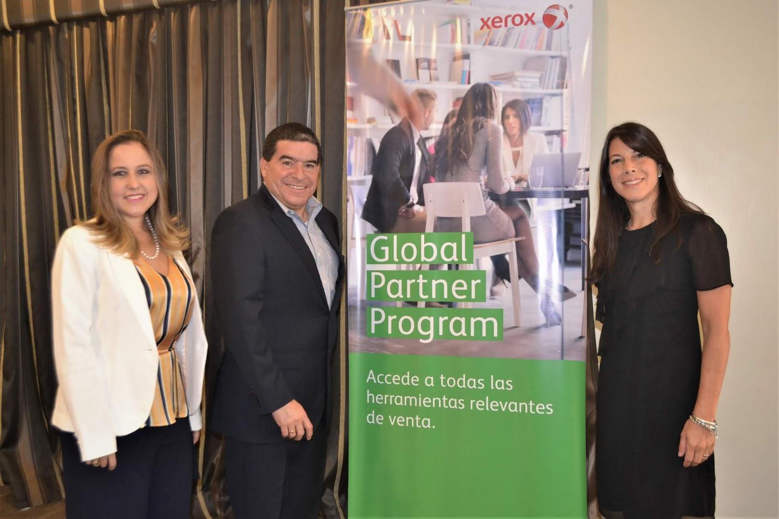 Xerox ayuda a sus Socios Globales