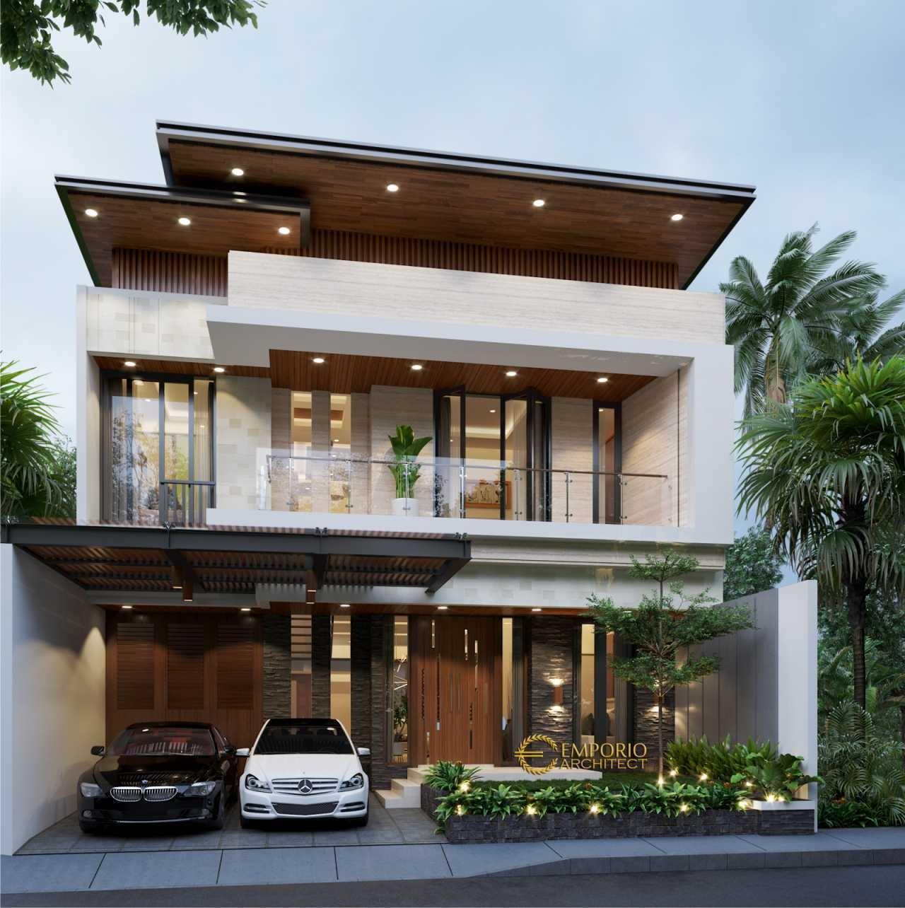 Rumah Minimalis 2 Lantai Modern