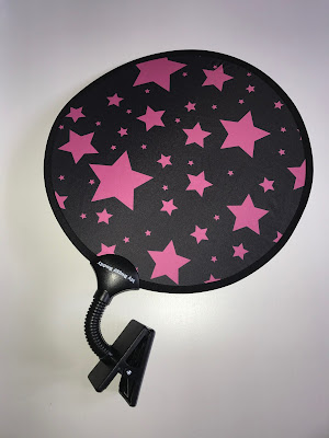 My BuggyBuddy Sunshade with pink stars