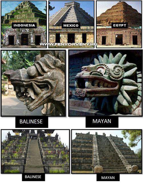 Hasonlóságok: Piramisok