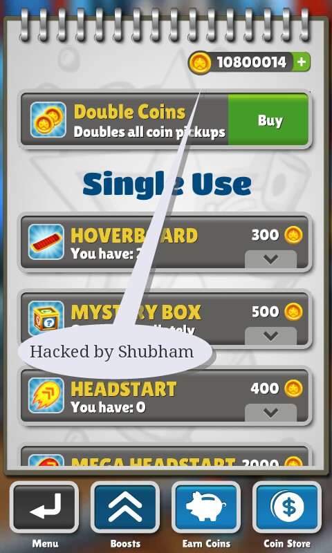 Hack Everything: Subway Surfer Hacked save file for all