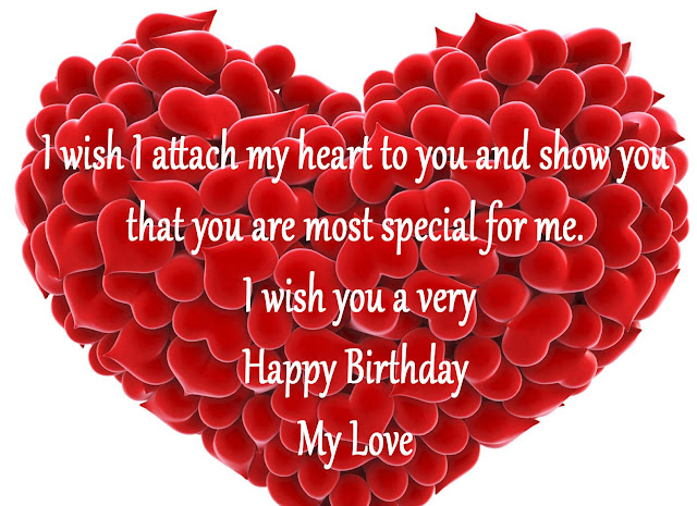 Special Person Birthday Wishes for Love