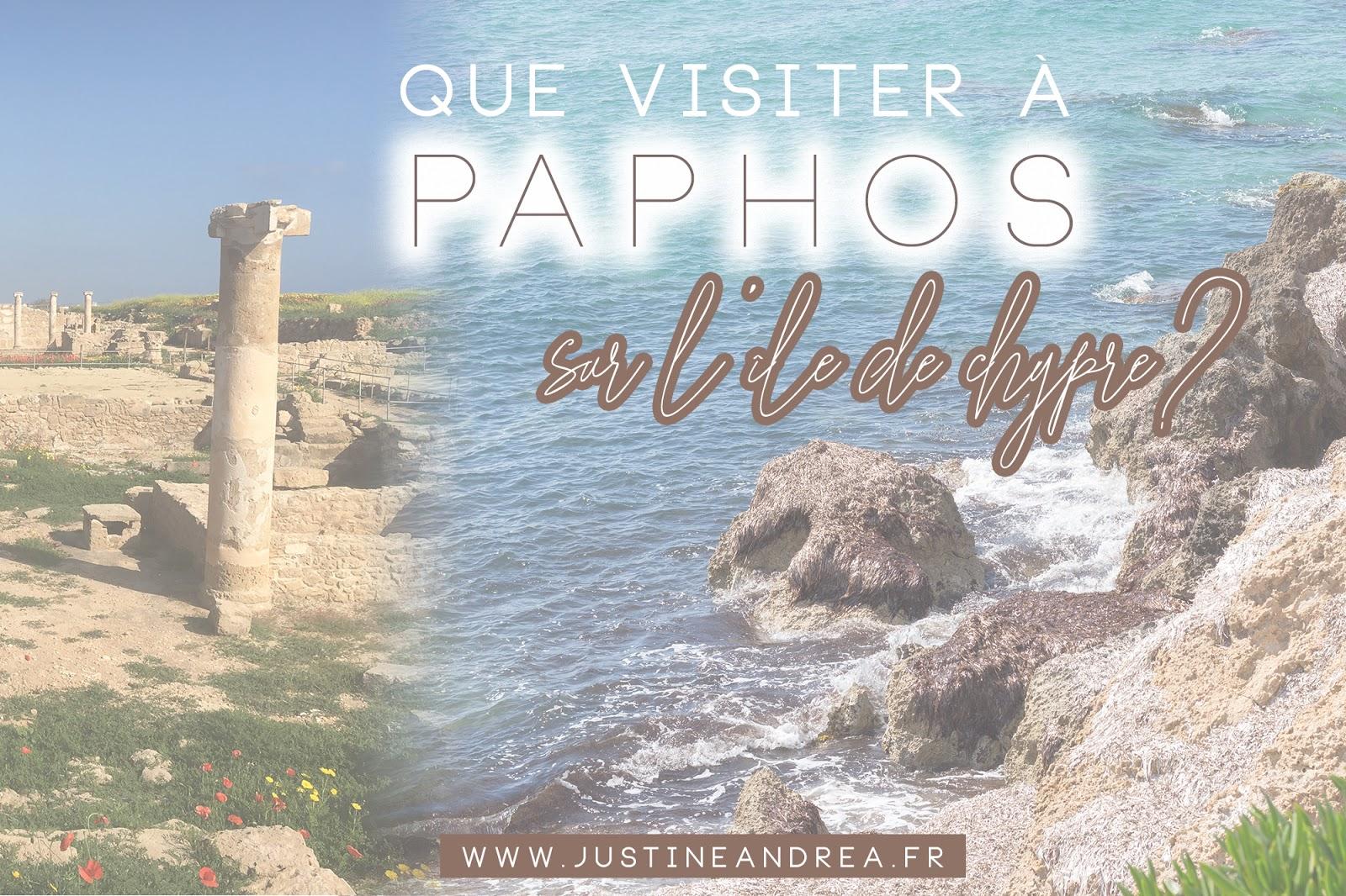 guide touristique paphos chypre