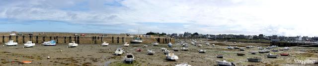 Panorama sulla spiaggia di Roscoff