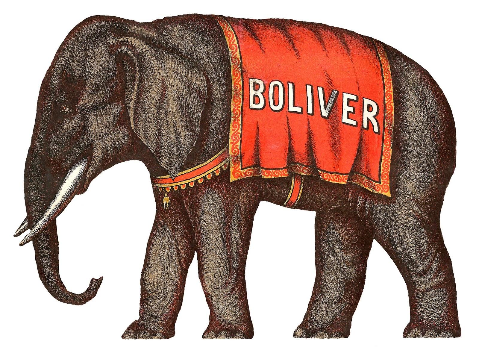 vintage elephant clip art - photo #12