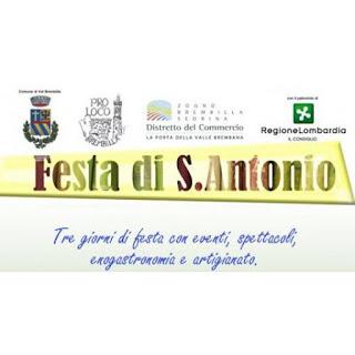 Festa Di Sant'antonio dal 15 al 17 giugno Brembilla (BG)