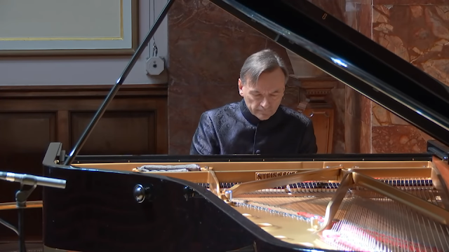 Stephen Hough at the Wigmore Hall (taken from live stream of Hough's concert on 1 June 2020)