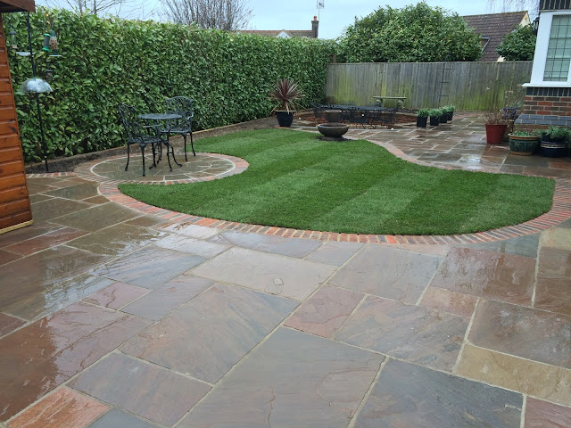 Landscaping project in Ashtead, Surrey