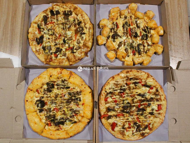 Grilled Steak Pizza 100% Imported Beef dari PHD