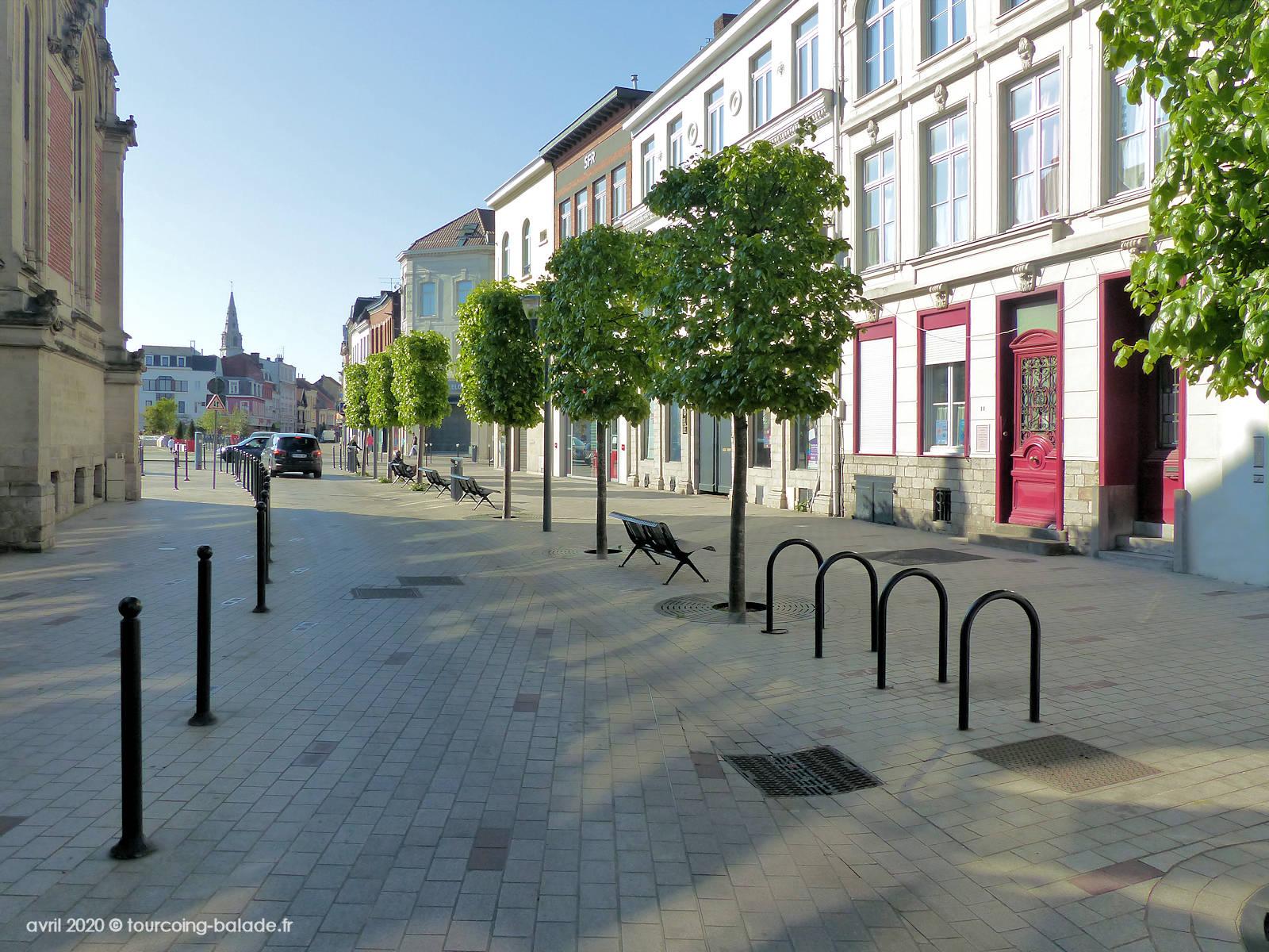 Rue de Tournai, Tourcoing, 2020
