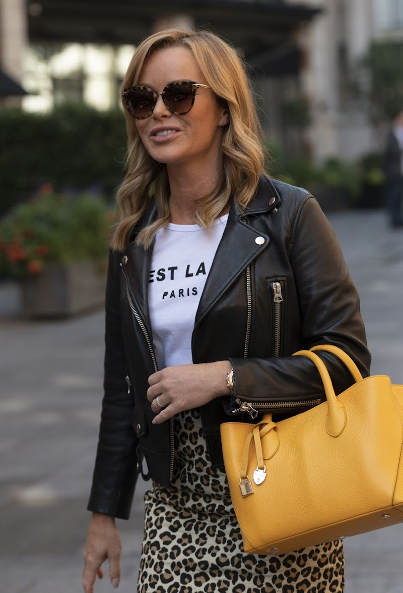 Amanda Holden Snapped at Global Studios in London 2 Sep- 2020
