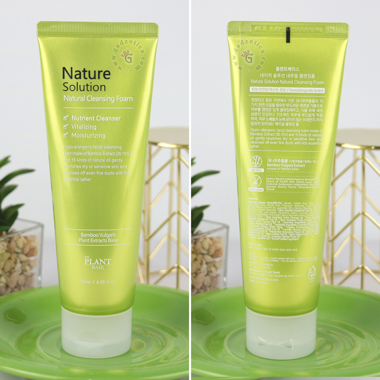 The Plant Base Nature Solutions Natural Cleansing Foam Review