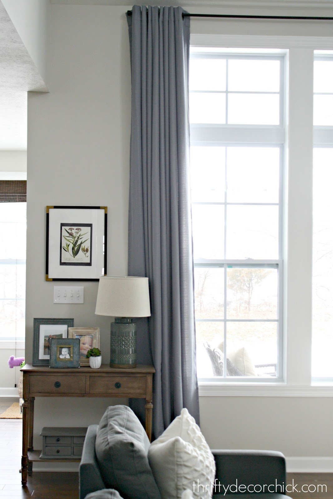inexpensive drapes for tall windows