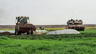 ditembak mati tentara israel dan jasadnya diseret pake buldoser