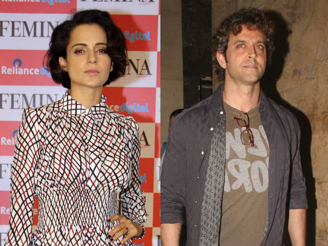 KANGANA'S PROFESSIONAL SAYS HRITHIK ROSHAN IS ATTEMPTING TO REALIZE PUBLIC SYMPATHY - BOLLYWOOD NEWS