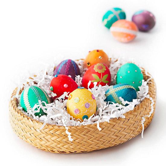 ovos decorados páscoa