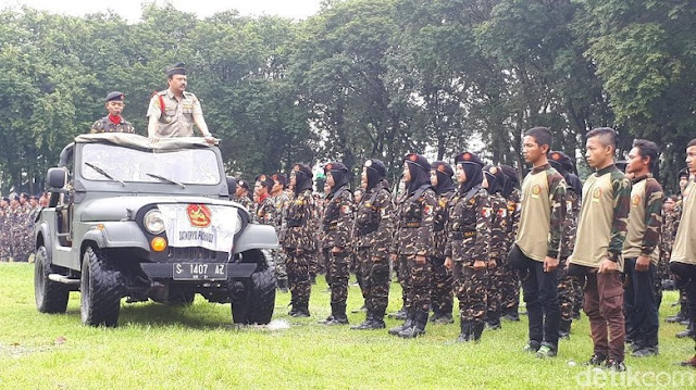 Antisipasi Intimadasi dari Kelompok Tertentu, Gus Yaqut Instruksikan Kader Ansor Bantu Polri dan TNI Amankan TPS