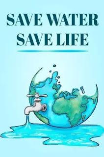 موضوع قطرة ماء = حياة