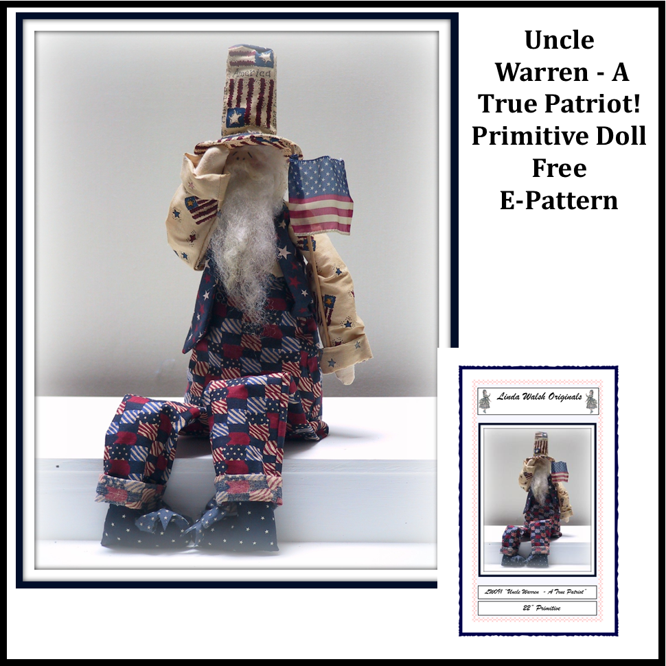Uncle Warren - A True Patriot Free E-Pattern