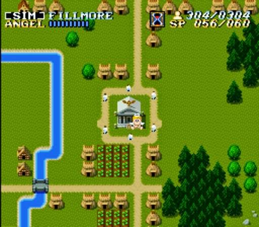 ActRaiser+game+portable+Super Nintendo+videojuego+descargar gratis
