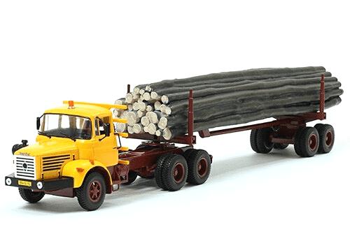 coleccion camiones articulados, camiones articulados 1:43, Berliet TBH 280 camiones articulados