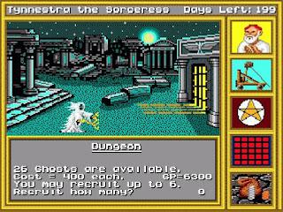 King's Bounty - versión Mega Drive