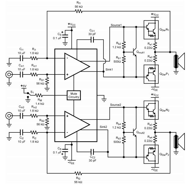 class a power amplifier circuit diagram amplifiercircuit circuit