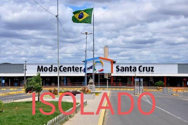 Moda Center terá estacionamentos e entradas frontais isolados durante visita de Bolsonaro