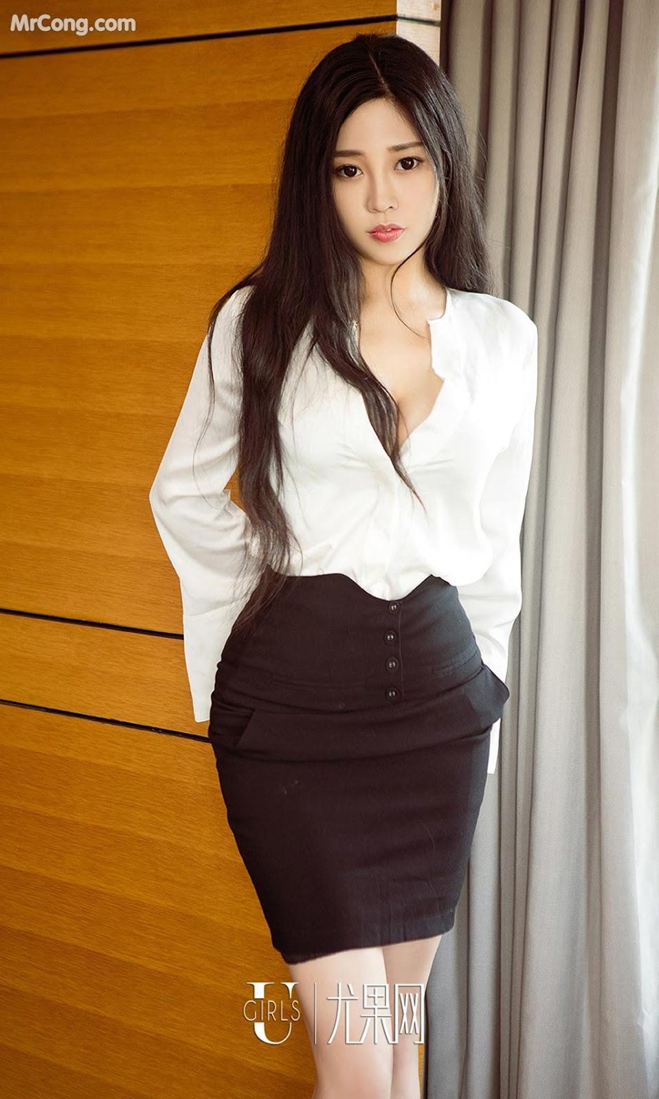 Image UGIRLS-Ai-You-Wu-App-No.1265-Wang-Shi-Shi-MrCong.com-009 in post UGIRLS – Ai You Wu App No.1265: Người mẫu Wang Shi Shi (王诗诗) (35 ảnh)