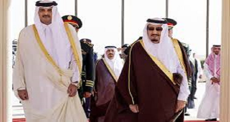 قطر تورط السعودية