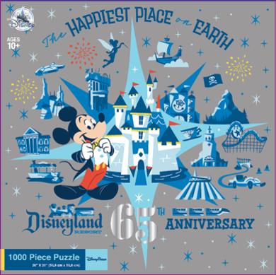 Disneyland Park 65th Anniversary puzzle