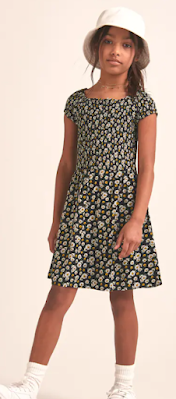 Abercrombie Kids Smocked Dress