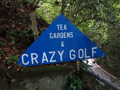 Crazy Golf at Rylstone Tea Gardens on the Isle of Wight