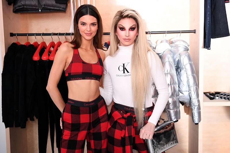 Aquaria Clicks at Calvin Klein Pajama Party in New York 11 Dec-2019