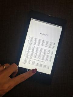 """book-touch, trochę inny... """"Zaginięcie"""" Remigiusz Mróz, fot. paratexterka ©"""