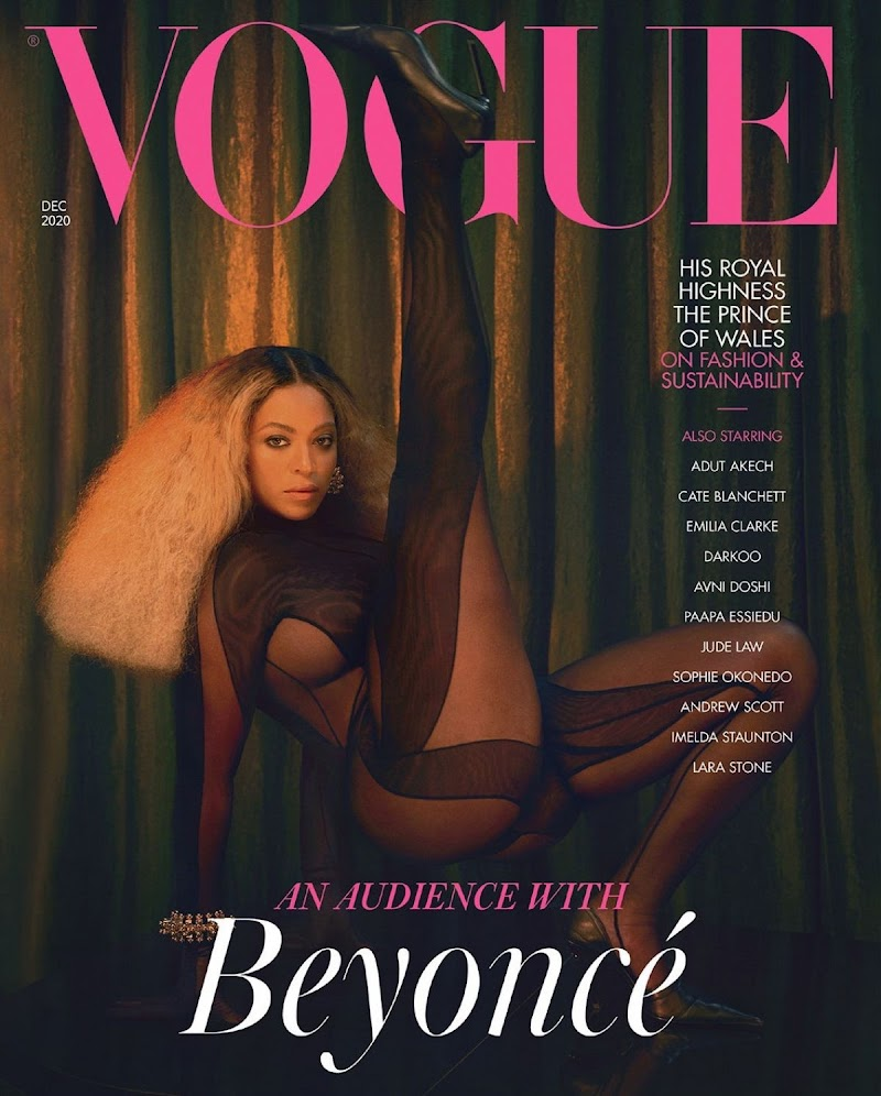 Beyoncé Clicked for Vogue - UK December 2020