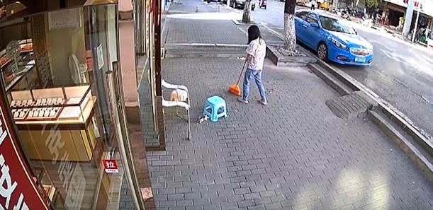 Driverless car (not a Tesla!) narrowly misses kitten outside jewellery store