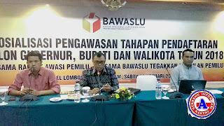 <b>Cegah Terjadinya Sengketa Pilkada, Balon Kada Ditekankan Serahkan Salinan Dokumen Persyaratan ke Bawaslu </b>