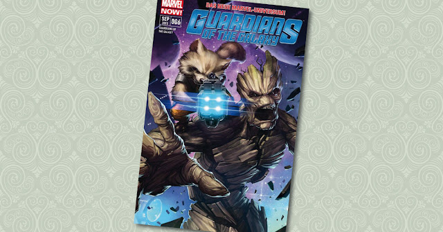 Guardians of the Galaxy 6 Panini Cover