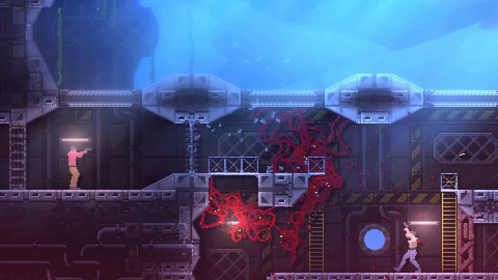 Обзор реверсивного хоррора Carrion - Как не надо рекламировать игры - 01